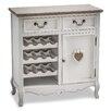 Maine Furniture Co. Romance 16 Bottle Tabletop Wine Cabinet