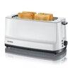 SEVERIN 4 Slice Toaster w/ Integrated Bun Warmer