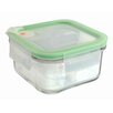 Glasslock 0.49L Microwave Square Food Container (Set of 2)