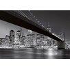 Wizard + Genius Brooklyn Bridge NY Fototapete 254 cm x 366 cm 8-teilig