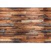 Wizard + Genius Wooden Wall Fototapete 254 cm x 366 cm 8-teilig