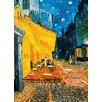 Wizard + Genius Terrasse de Café la Nuit Fototapete 254 cm x 183 cm 4-teilig