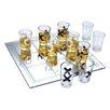 Kovot 11 Piece Shot Glass Tic Tac Toe Game Set