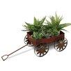 Wagon Iron Wheelbarrow Planter - GEIN Planters