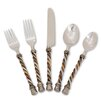 The GG Collection 20-Piece Twisted Flatware Set