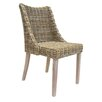 Old Basket Supply Ltd Rattan Occasional Side Chair
