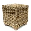Old Basket Supply Ltd Rattan Cube Ottoman