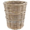 Old Basket Supply Ltd Round Rattan Wastepaper Basket