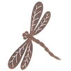 Old Basket Supply Ltd Rusty Dragonfly Garden Stake