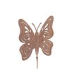 Old Basket Supply Ltd Rusty Butterfly Garden Stake
