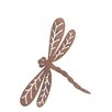 Old Basket Supply Ltd Rusty Dragonfly in Flight Garden Stake