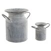 Old Basket Supply Ltd 2 Piece Milk Churn Set