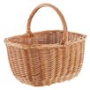 Old Basket Supply Ltd Oval Hollander Willow Buff Basket
