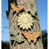 Designer Stone, Inc 5 Piece Springtime Garden Plaque Set