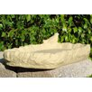 Shallow Platform Tray Bird Feeder Birdbath - Designer Stone Inc Bird Baths