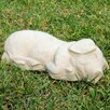 Sleeping Pig Statue - Designer Stone Inc Garden Statues and Outdoor Accents