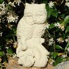 Vintage Perched Owl Statue - Designer Stone Inc Garden Statues and Outdoor Accents