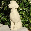 Sitting Poodle Statue - Designer Stone Inc Garden Statues and Outdoor Accents