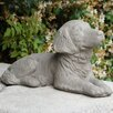 Retriever Puppy Statue - Designer Stone Inc Garden Statues and Outdoor Accents