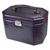 Ikee Design Luxury Leatherette Lockable Jewelry Box
