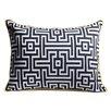 Aesthetic Content Frenzy Woven Lumbar Pillow