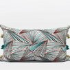 G Home Collection Luxury Geometric Tassels Lumbar Pillow
