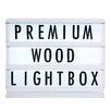 GingerSnap Premium Wood A4 Lightbox