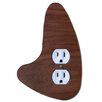 Modern Light Switch Outlet Cover Left