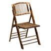 Offex American Champion Bamboo Folding Chair