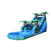 EZ Inflatables Crush Water Slide