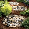 River Stepping Stone - Viva Terra Garden Statues and Outdoor Accents