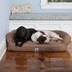 3 Dog Pet Supply EZ Wash Premium Headrest Dog Bed with Memory Foam