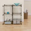 """Organize It All Wire Cube 30"""" Shelving Unit (Set of 4)"""