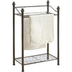 Organize It All Belgium Free Standing Towel Rack