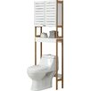 """Organize It All Rendition 23.62"""" x 70.25"""" Free Standing Over the Toilet Cabinet"""