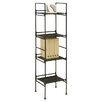 "Organize It All 45.375"" Accent Shelves Bookcase"