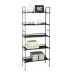 "Organize It All 56.625"" Etagere Bookcase"