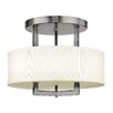 Hinkley Lighting Hampton 3 Light Semi Flush Mount
