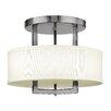 Hinkley Lighting Hampton 3 Light Semi Flush Mount