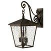 Hinkley Lighting Trellis 3 Light Outdoor Wall Lantern