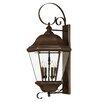 Hinkley Lighting Clifton Park 4 Light Outdoor Wall Lantern