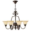 Hinkley Lighting Cello 6 Light Chandelier