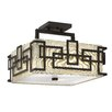 Hinkley Lighting Lanza 3 Light Semi Flush Mount