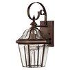 Hinkley Lighting Augusta 1 Light Outdoor Wall Lantern