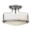 Hinkley Lighting Harper 3 Light Semi Flush Mount