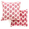 Safavieh Sarra Cotton Throw Pillow (Set of 2)
