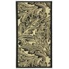 Safavieh Courtyard Sand / Black Outdoor Area Rug
