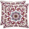 Safavieh Willow Cotton Throw Pillow (Set of 2)
