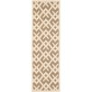Safavieh Courtyard Brown/Bone Outdoor Area Rug