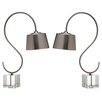 """Safavieh Reed 22.5"""" H Table Lamp with Empire Shade (Set of 2)"""